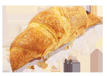 Croissant čokoládovo višňový