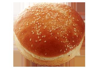 Hamburgerová žemľa biela - upečená
