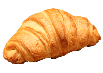 Choco filled croissant