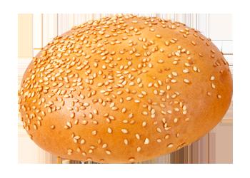 Hamburgerová žemľa - upečená